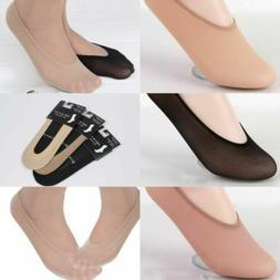 10 Pairs Invisible Liner Socks Women No Show Peds Low Cut An