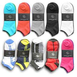 12 Pairs Beverly Hills Polo Club Women's Low Cut Ankle Socks
