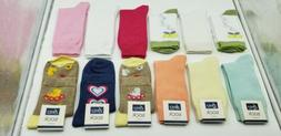 12 Pairs Women's Socks Cotton Crew Ladies Assorted Colors Do