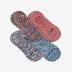 2 Bombas Packs - Women's Sparkle Space Dye Cushioned No Show