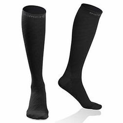 CAMBIVO 2 Pairs Compression Socks for Women & Men, 20 30 mmH