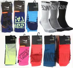 Nike Men 3 Pack Dri Fit Crew Sock Size Men 6-8,8-12,12-15 Yo