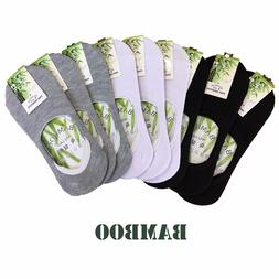 3 Pairs Bamboo Socks Quality Peds Low Ankle Invisible Women