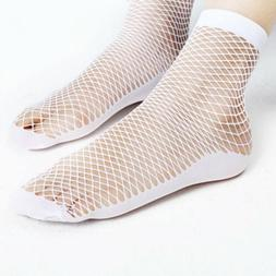 3 Pairs Fashion Women Girls Fishnet Socks Summer Mesh Short