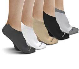 Physix Gear Sport No Show Socks Women & Men - Invisible Low
