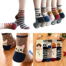 YSense 4-5 Pairs Womens Cute Funny Dog Socks Casual Cotton O
