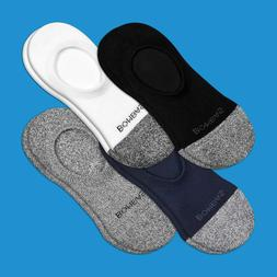 4-Pack Bombas Men Women Unisex ~ NO SHOW ~ Socks Size 9-15 L