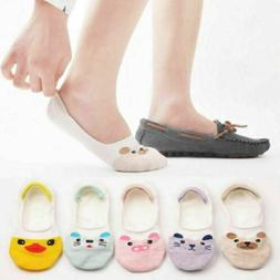 5/10 Pairs Women Invisible No Show Nonslip Liner Low Cut Cot