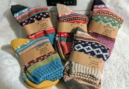 5 Pair / Womens Fashion Socks Size 7- 8