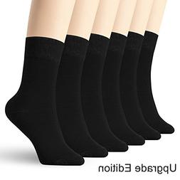 6 pack thin high ankle cotton socks