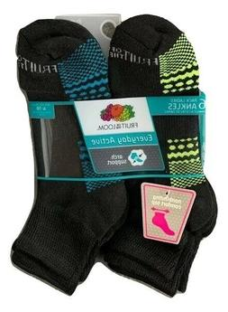 6 PACK Fruit Of The Loom Women's Everyday Active Breathable