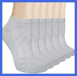 Loritta 6 Pairs Womens Ankle Socks No Show Low Cut Short Spo