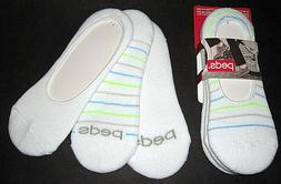 6 Pairs Womens PEDS Cushioned NO SHOW Socks Shoe Size 5-10