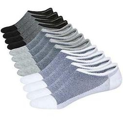 Chalier 6 Pairs Womens No Show Socks Casual Cotton Non, Styl