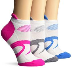 ASICS Women's Intensity Single Tab Socks , White, Medium