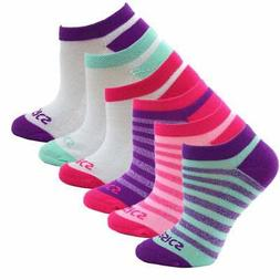ASICS Accelerate No Show 6-Pack  Athletic   Socks Pink Women