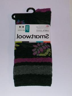 SmartWool Blossom Bitty Crew Socks Women's Size Medium NWT C