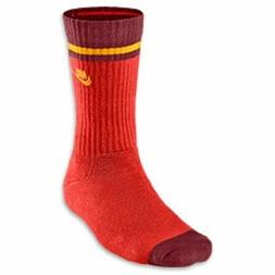 Nike Classic Striped Crew Socks, Medium, Men's/Women's, Oran