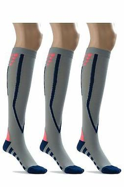 Silky Toes Compression Socks for Men & Women  Athletic Fit f