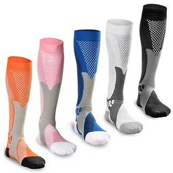 Compression Socks Sports Men Women Calf Shin Leg Running Fi