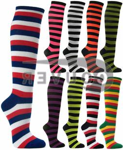 Couver Premium Quality Women's Colorful Striped Cotton Tube
