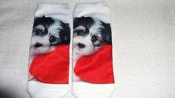 Cute Doggy Dog Pet Socks Unisex Clothing Casual Men's Women