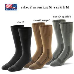 Military Tactical Boot Socks Wick Dry Made USA NEW 6074 Fox