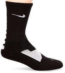 Nike Hyper Elite Crew Basketball Socks Black/White Size Smal