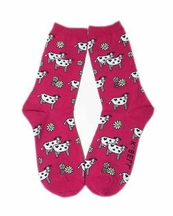 K. Bell Women's Funny Novelty Crew Socks, But First Coffee,