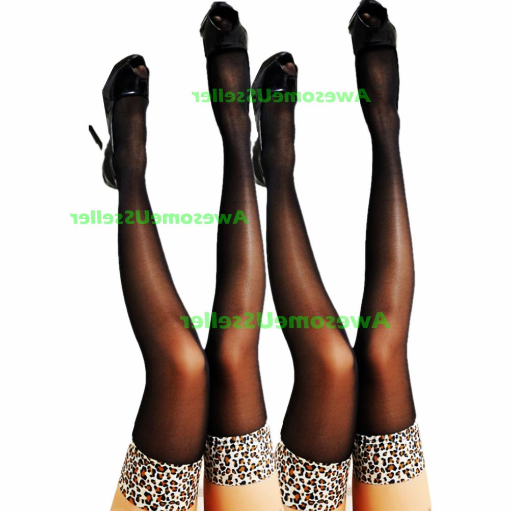 High Lace Top Hosiery Socks Tights Over The