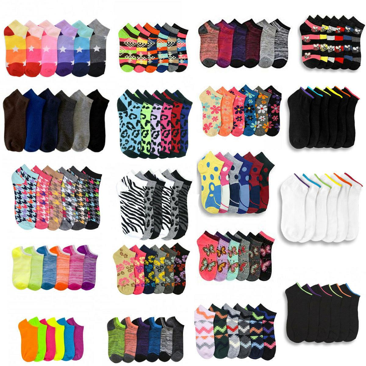 12 600 women ankle socks assorted design