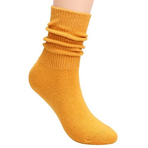 TINTAO Comfortable Soft Slouch Knit Socks,5-10 W81
