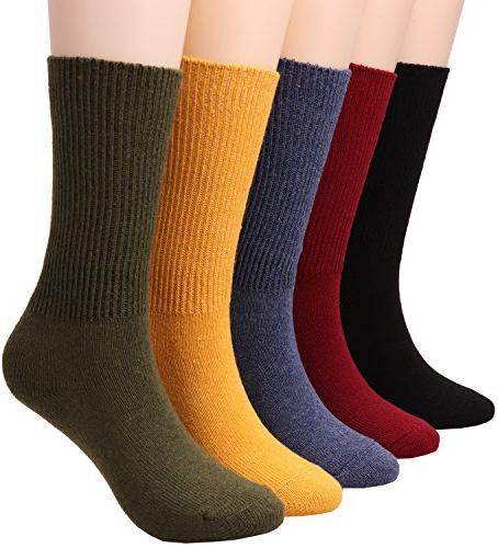 TINTAO Comfortable Soft Slouch Knit Cotton Socks,5-10 W81