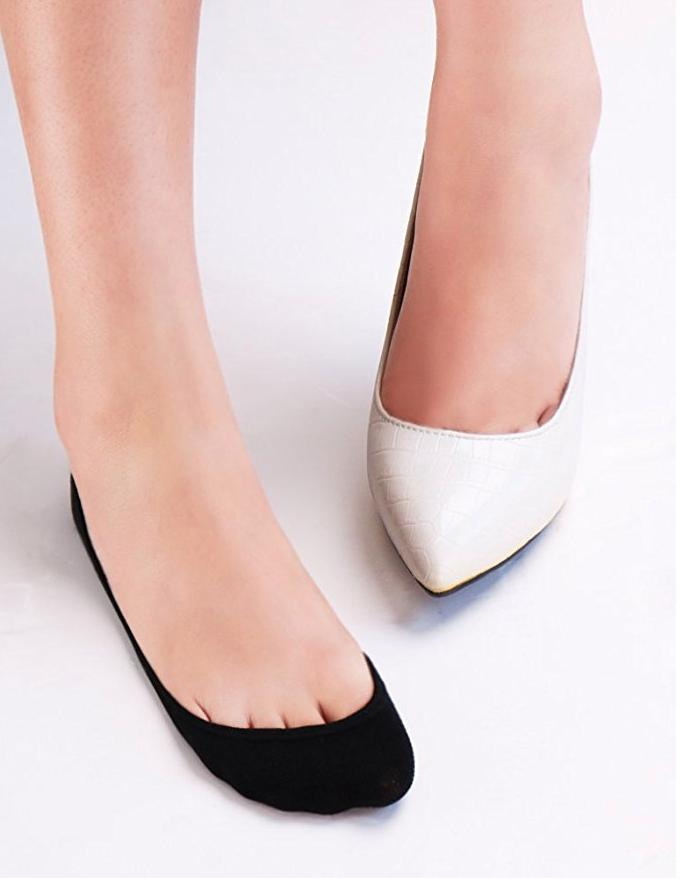 6 Women's Low Cut Nonslip No Liner for Flats