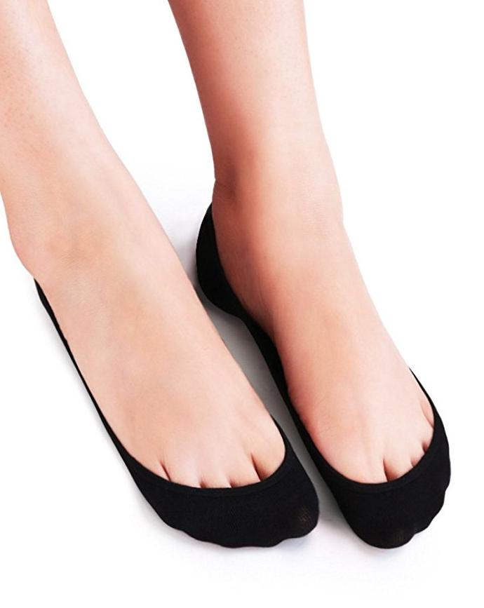 6 Women's Low No Socks for Flats