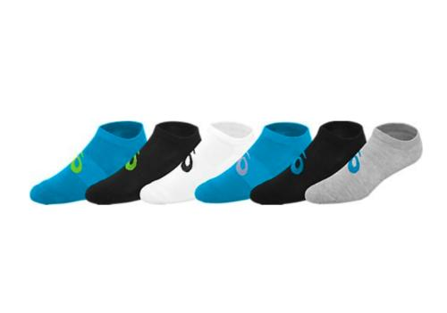 ASICS Sports Apparel Womens Invasion No Show Running Socks