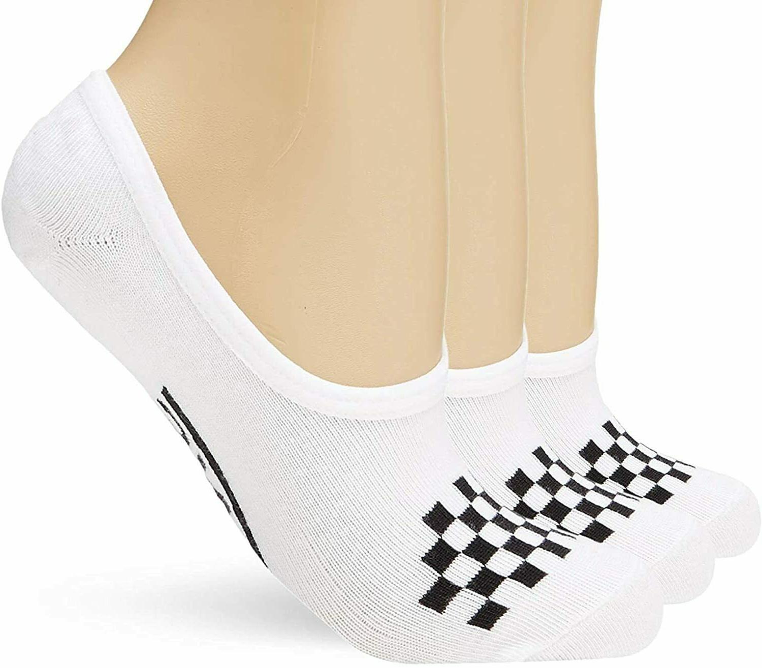 Vans Basic Canoodle Women's Socks 3 Pack White/Black