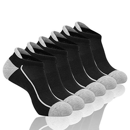 cut ankle athletic socks cushioned