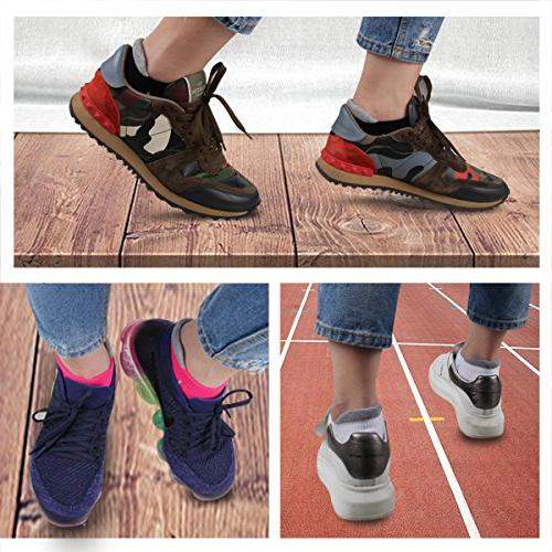 Heatuff Womens Ankle Running Show Breathable Tab Sock Pack