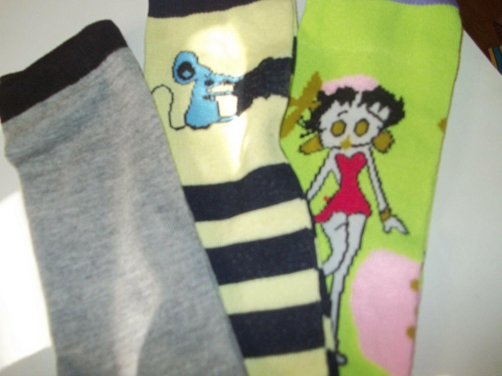 Frenchic Socks 9-11 Mixed Colors Novelty pac