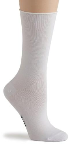 HUE Women's Jeans Sock, White