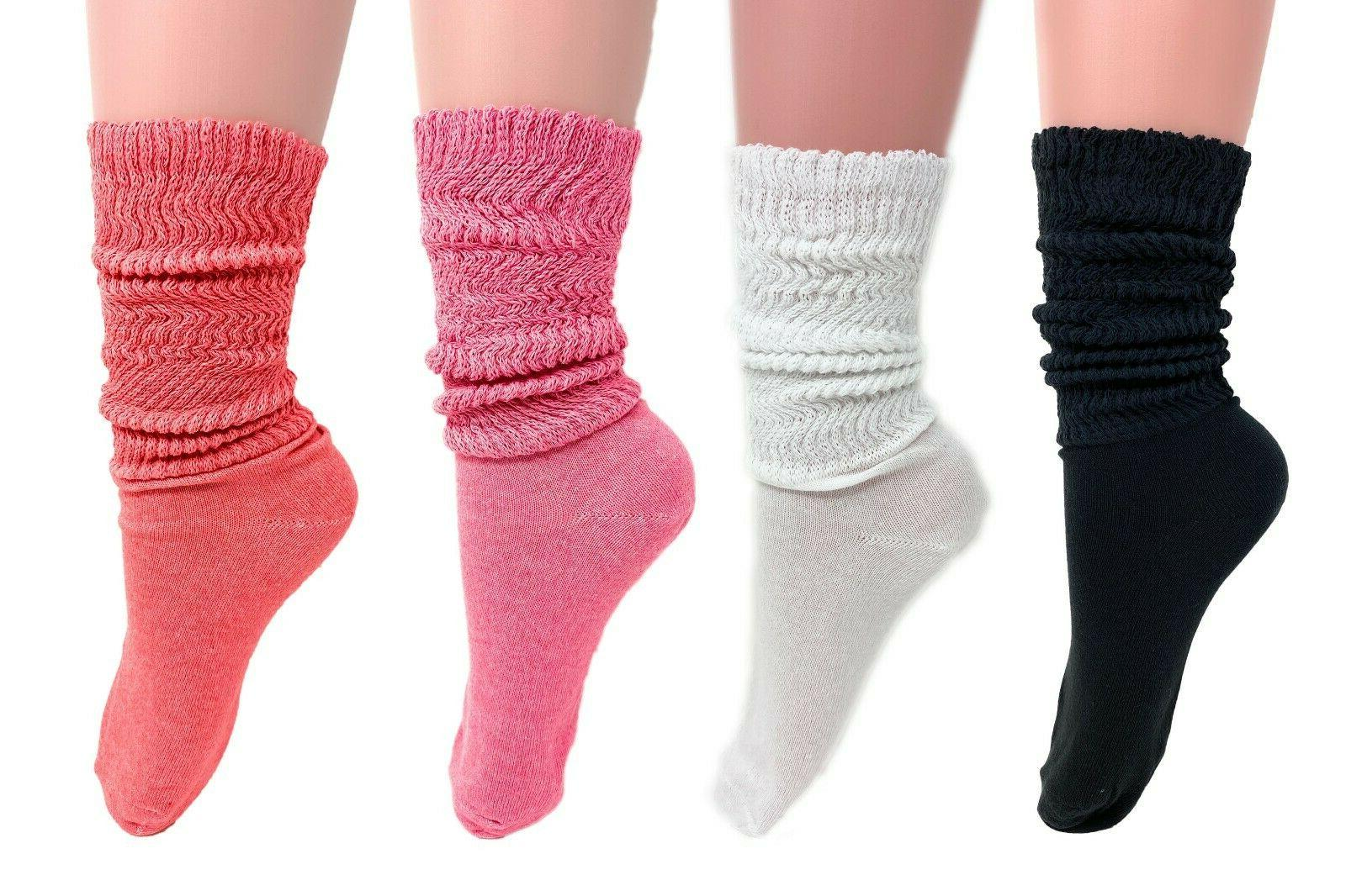 lightweight slouch socks for women made in