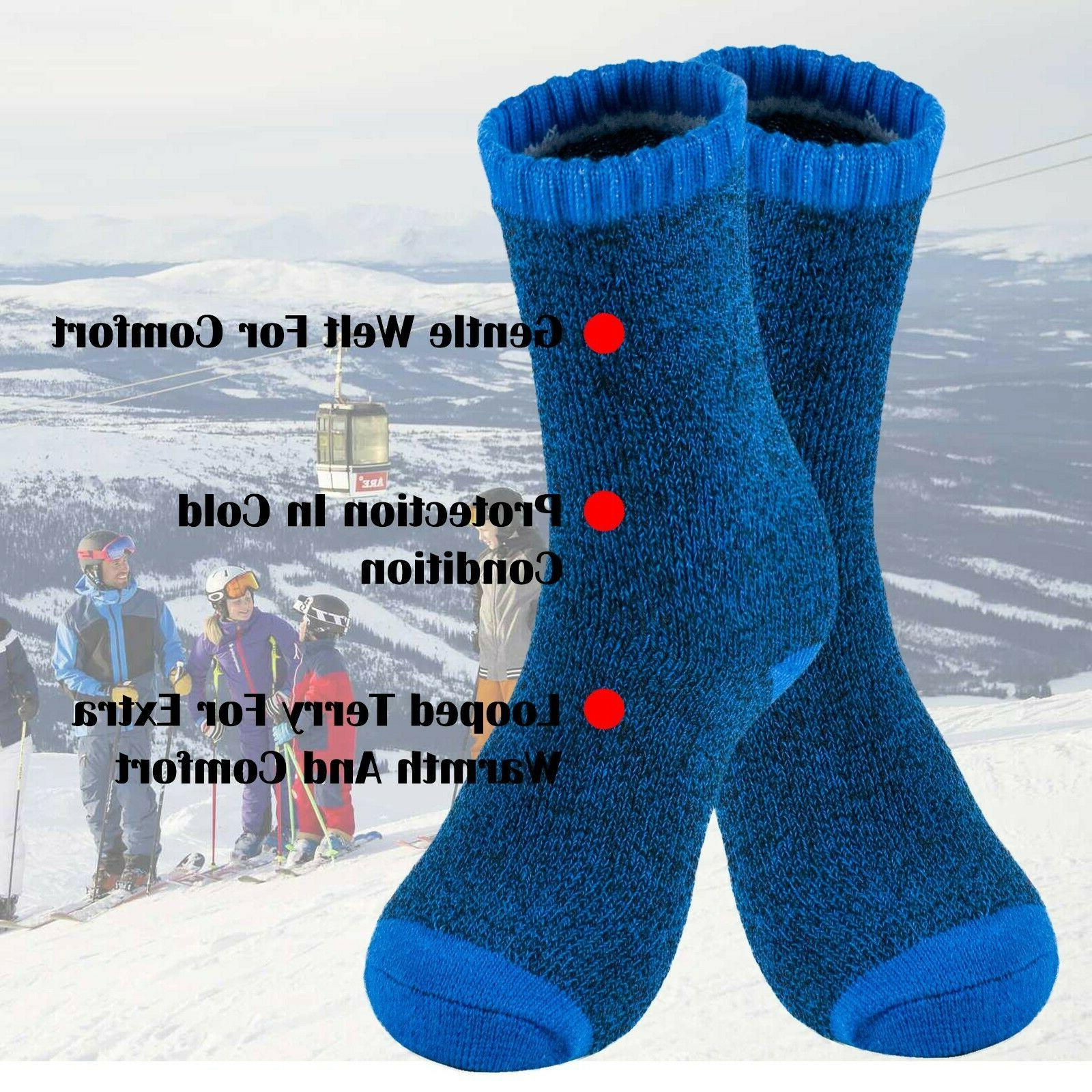 Lot Winter Thermal Duty Warm Sox