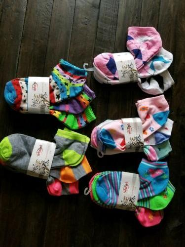 new womens 15 pairs patterned no show