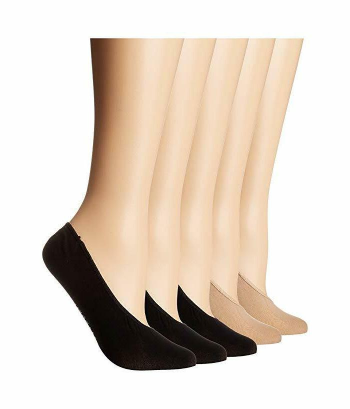 nwt women 10 pairs foot liners no