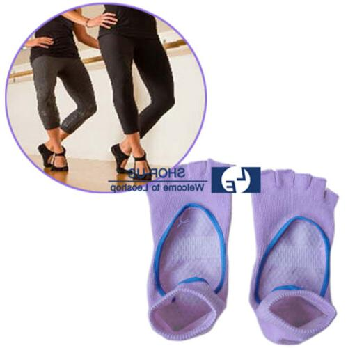 New 1 Pair Women Pilates Yoga Fitness Non-slip Massage Sport