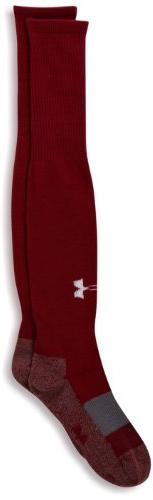 Under Armour Soccer Solid Over the Calf Youth Socks, Cardina
