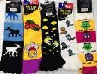Toe Socks Animals Monsters Cowboy boots colorful adult ladie