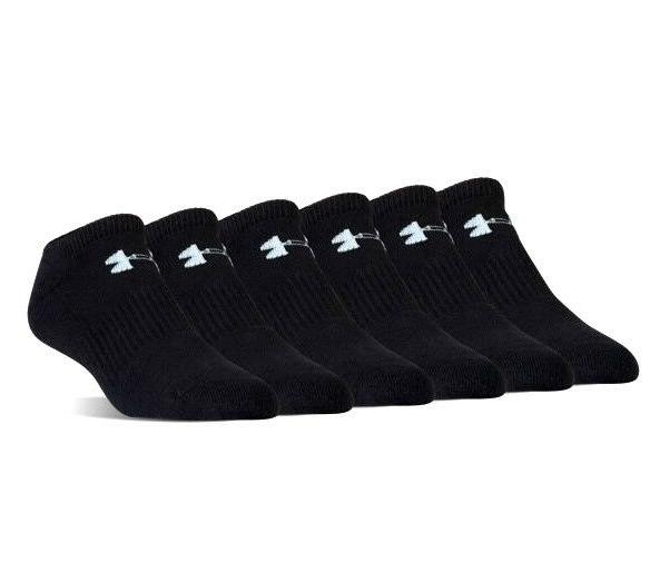 Under Armour UA Charged Cotton® 2.0 No Show 6-pack Men's At