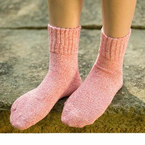 5 Pairs Womens Wool Cashmere Thick Sock Soft